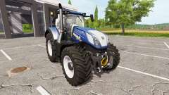 New Holland T7.315 blue power для Farming Simulator 2017