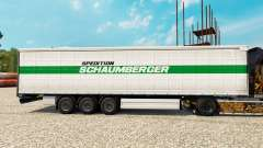 Скин Schaumberger Spedition на полуприцепы для Euro Truck Simulator 2