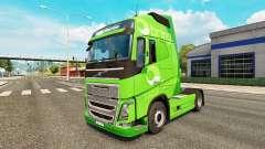 Скин Bring на тягач Volvo для Euro Truck Simulator 2