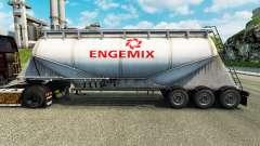 Скин Engemix на цементный полуприцеп для Euro Truck Simulator 2