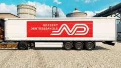 Скин Norbert Dentressangle на полуприцепы для Euro Truck Simulator 2