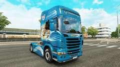 Скин The Griffon на тягач Scania для Euro Truck Simulator 2
