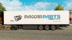 Скин Paccar Parts на полуприцепы для Euro Truck Simulator 2