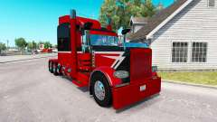 Скин Big & Little на тягач Peterbilt 389 для American Truck Simulator