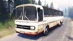 Mercedes-Benz O 302 (Br.302) для Spin Tires