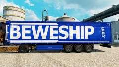 Скин Beweship на полуприцепы для Euro Truck Simulator 2