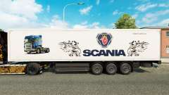 Скин Scania на полуприцепы для Euro Truck Simulator 2