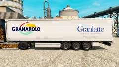 Скин Granlatte на полуприцепы для Euro Truck Simulator 2