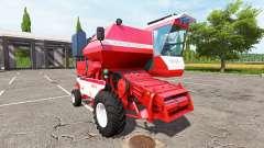 Ростсельмаш СК-5МЭ-1 Нива-Эффект красный v1.1 для Farming Simulator 2017