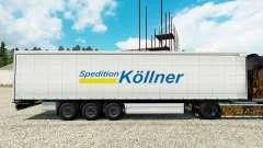 Скин Spedition Kollner на полуприцепы для Euro Truck Simulator 2