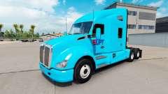 Скин UPT на тягач Kenworth T680 для American Truck Simulator