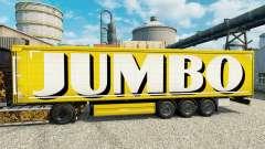 Скин Jumbo на полуприцепы для Euro Truck Simulator 2