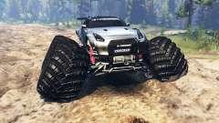 Nissan GT-R (R35) [monster truck] для Spin Tires