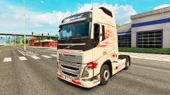 Скин Bloody на тягач Volvo для Euro Truck Simulator 2