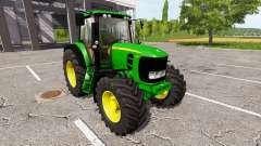 John Deere 7530 Premium v0.1 для Farming Simulator 2017