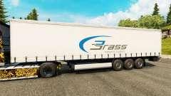 Скин Brass Transport Logistics на полуприцепы для Euro Truck Simulator 2