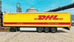 Скин DHL v2 на полуприцепы для Euro Truck Simulator 2
