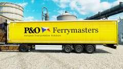 Скин P&O Ferrymasters на полуприцепы для Euro Truck Simulator 2