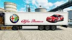 Скин Alfa Romeo Sport на полуприцепы для Euro Truck Simulator 2