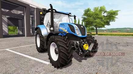 New Holland T6.165 для Farming Simulator 2017