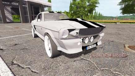 Ford Mustang Shelby GT500 Eleanor v1.1 для Farming Simulator 2017