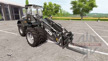JCB 435S black pearl для Farming Simulator 2017