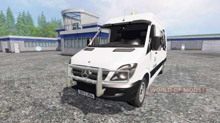 Mercedes-Benz Sprinter [service] для Farming Simulator 2015
