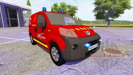 Peugeot Bipper SDIS для Farming Simulator 2017