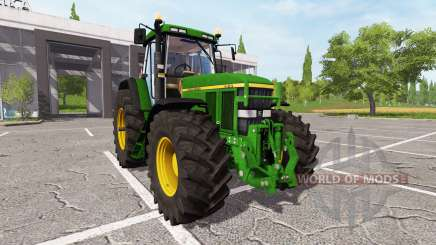 John Deere 7810 для Farming Simulator 2017