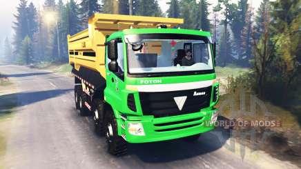 Foton Auman 9 ETX v2.0 для Spin Tires