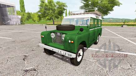 Land Rover Series IIa Station Wagon 1965 v2.0 для Farming Simulator 2017