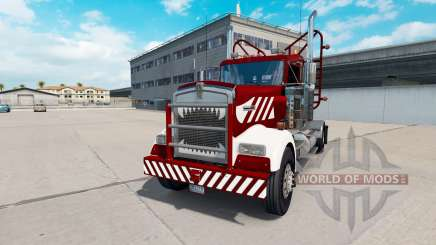 Kenworth W900 Day Cab Heavy Duty для American Truck Simulator
