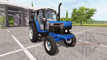 Ford 6640 для Farming Simulator 2017