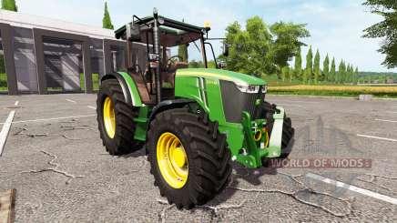 John Deere 5075M для Farming Simulator 2017