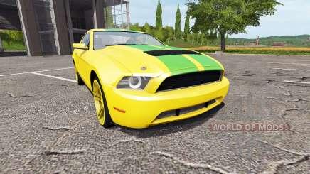 Ford Mustang для Farming Simulator 2017