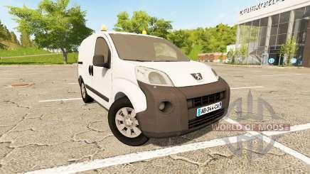 Peugeot Bipper v1.2 для Farming Simulator 2017