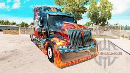 Wester Star 5700 remix для American Truck Simulator