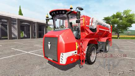 HOLMER Terra Variant 600 eco [pack] v2.0 для Farming Simulator 2017