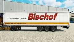 Скин Bischof на шторный полуприцеп для Euro Truck Simulator 2