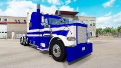 Скин Fifth Wheel Transportation на Peterbilt 389 для American Truck Simulator