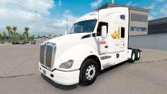 Скин Bimbo на тягач Kenworth T680 для American Truck Simulator