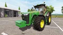 John Deere 8320R v1.2 для Farming Simulator 2017