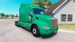 Скин Interstate Dist. Co. на тягач Peterbilt 579 для American Truck Simulator