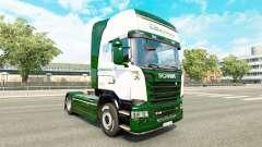 Скин Binotto на тягач Scania для Euro Truck Simulator 2