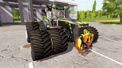 John Deere 8530 black shadow v2.1 для Farming Simulator 2017