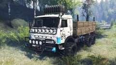 КамАЗ-43114 v6.0 для Spin Tires