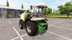 Krone BiG X 580 для Farming Simulator 2017