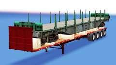 Сборник полуприцепов с различными грузами v4.0 для American Truck Simulator