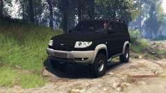 УАЗ-3163 Патриот v3.0 для Spin Tires