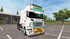 Scania R730 long для Farming Simulator 2017